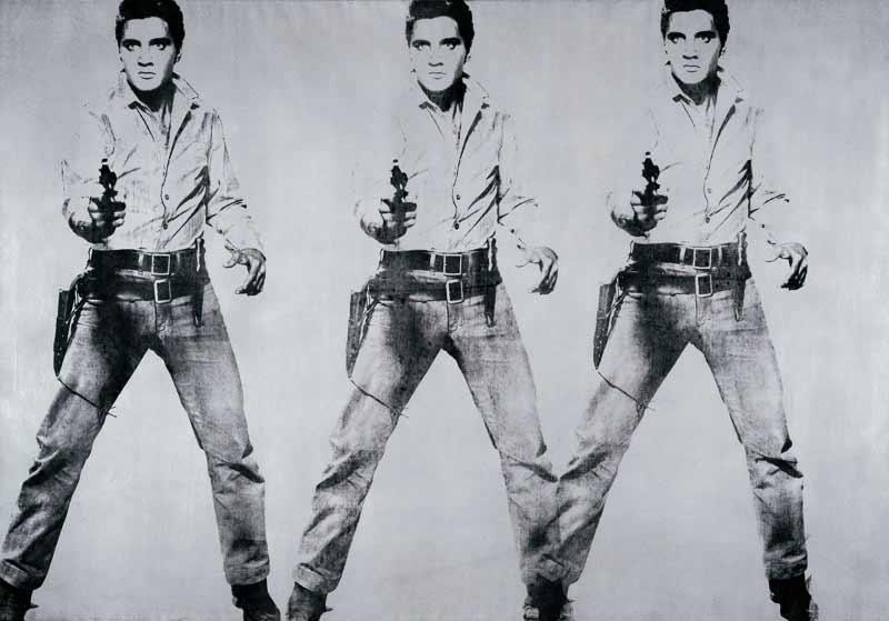 Andy Warhol - Triple Elvis - 1962