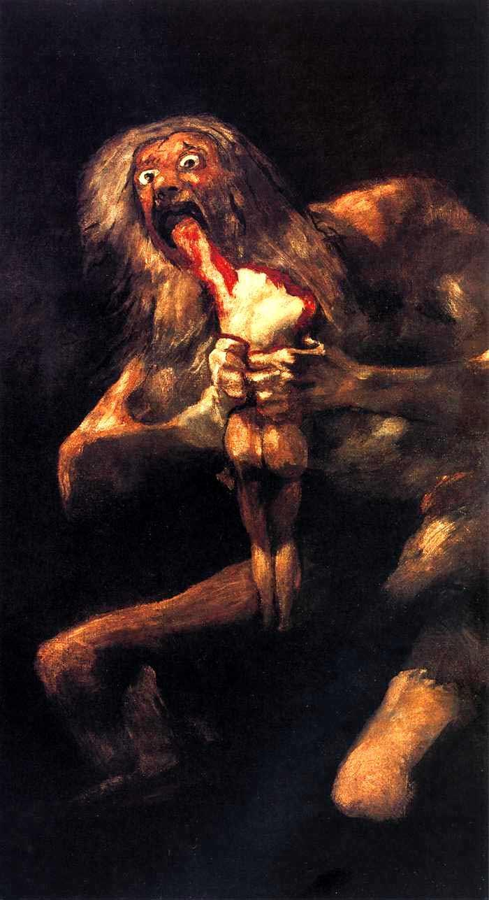 Francisco de Goya, Saturno devorando a su hijo
