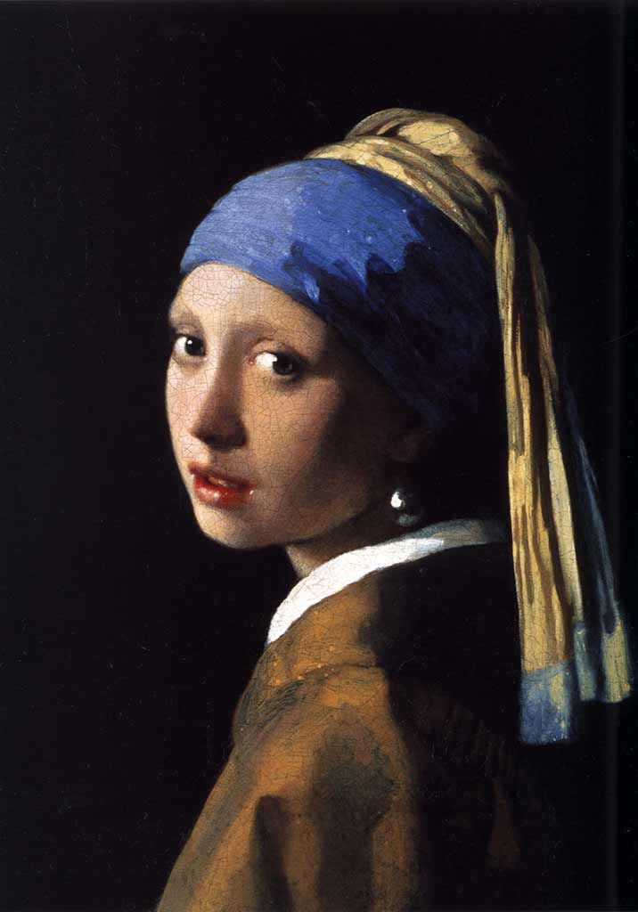 Johannes Vermeer - La joven de la perla, 1665 - 1667