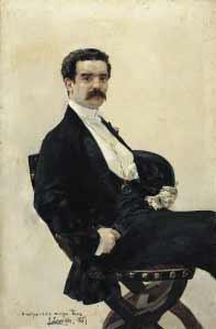 Joaquín Sorolla, retrato de D. Antonio García Castillo