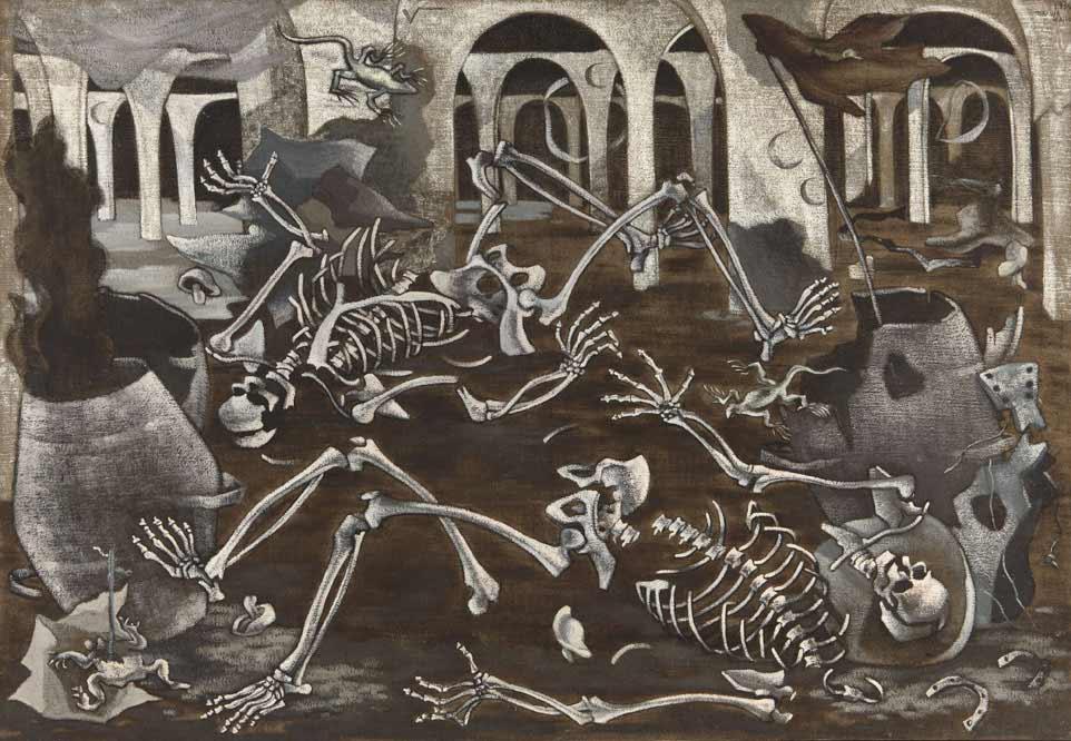 Maruja Mallo, Antro de fosiles
