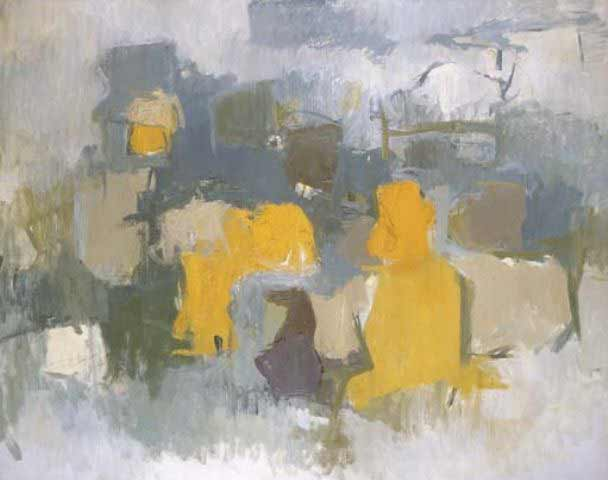 Esteban Vicente, untitled, 1958, oil on canvas, 48x60.2