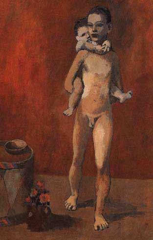 Picasso - Dos hermanos, 1906