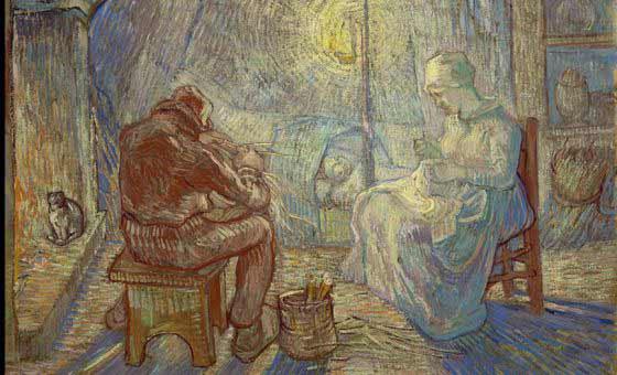 Van Gogh - La Vigilia, 1889