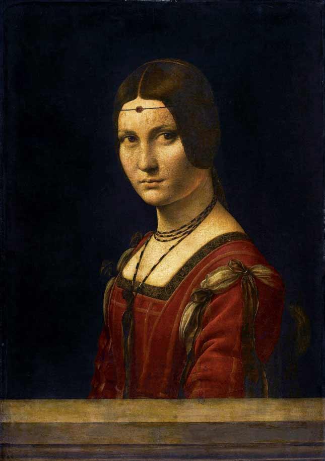 Leonardo da Vinci (attrib) - La Belle Ferroniere