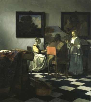 Vermeer, The Concert