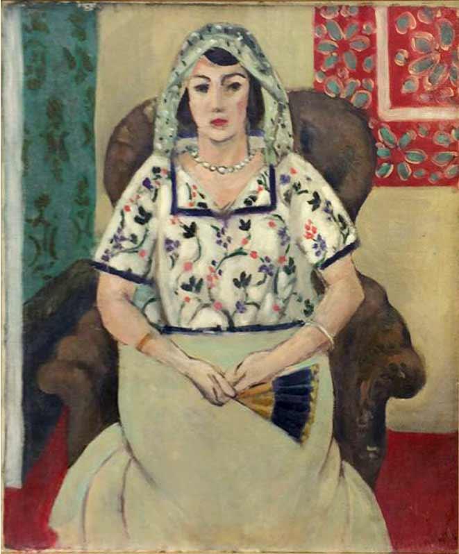 Henri Matisse - Mujer sentada sobre butaca