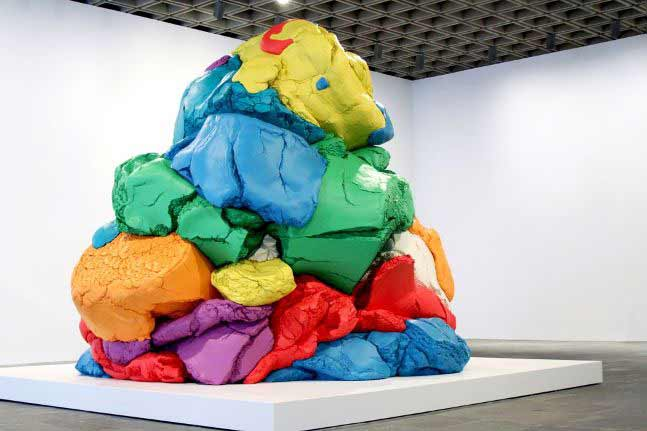 Jeff Koons - Play Doh, 2014
