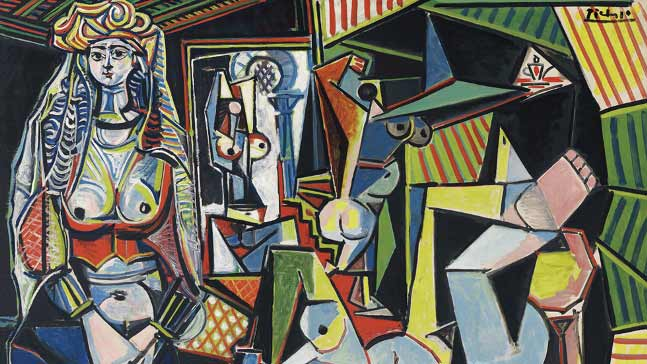 Pablo Picasso, Mujeres de argel