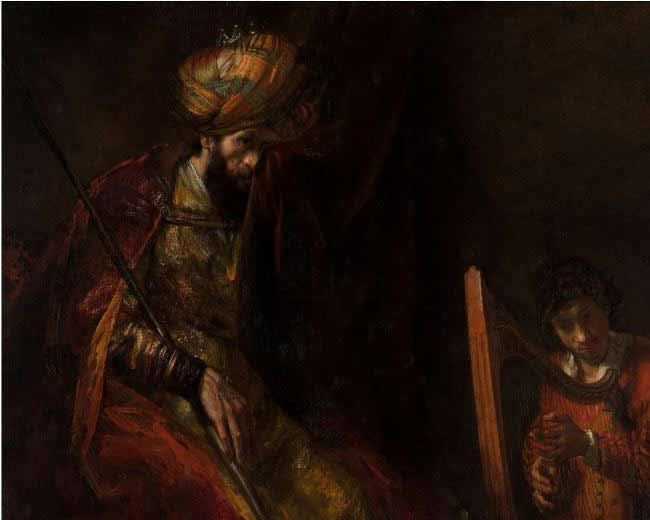 Rembrandt - Saúl y David
