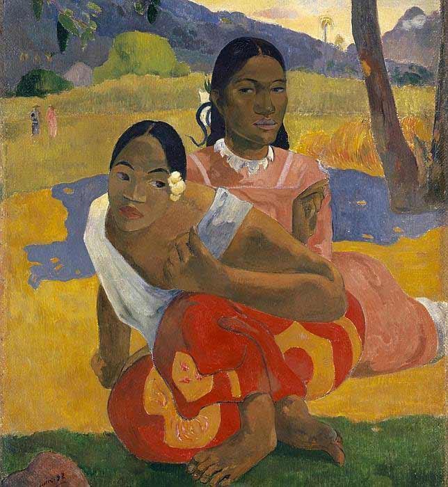 Paul Gauguin - Nafea faa ipoipo, 1892