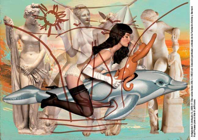 jeff koons - Antigüedad 3, 2009-2011