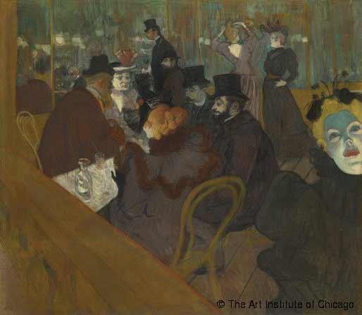 Tolouse-Lautrec - Au Moulin Rouge