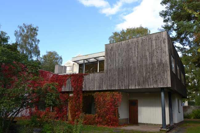 Casa y estudio de Alvar Aalto, Helsinki, 1934-1935