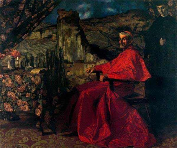 Ignacio de Zuloaga - El Cardenal