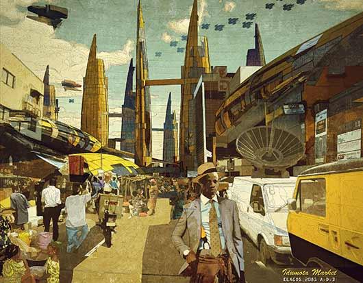 Ikiré Jones - Idumota Market, Lagos 2081 A.D. 2014