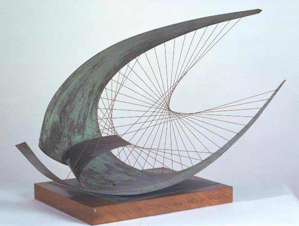 Stringed Figure (Curlew), Version II 1956, edition 1959 Dame Barbara Hepworth 1903-1975 Presented by the executors of the artist's estate 1980 http://www.tate.org.uk/art/work/T03137