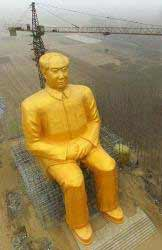 Escultura de Mao Zedong - Henan, China