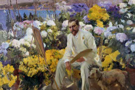 Joaquín Sorolla - Louis Comfort Tiffany, 1911 © The Hispanic Soceity of AmericaAmerica