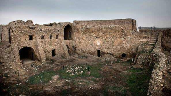 Monasterio de San Elías en Mosul,Irak