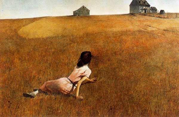 Andrew Wyeth - El mundo de Cristina