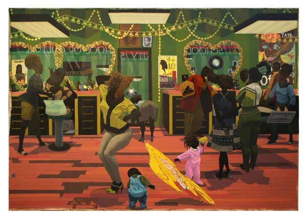 Kerry James Marshall -School of beauty school of culture