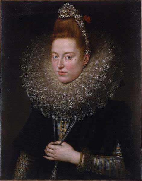 Peter Paul Rubens - Dama delle licnidi, olio su tela, 76x60