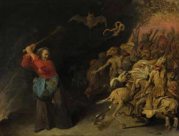 David Rijckaert III - Dulle Griet of Helleveeg, 1650