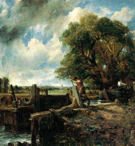 John Constable - La esclusa
