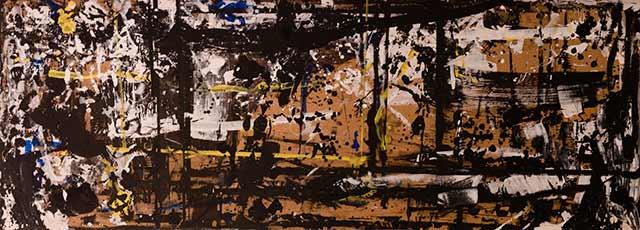 Amilcar de Castro - Mesa 12, década de 1990, Acrílica sobre tela