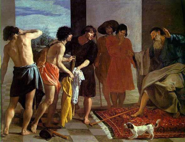 Diego Velázquez - La Túnica de José