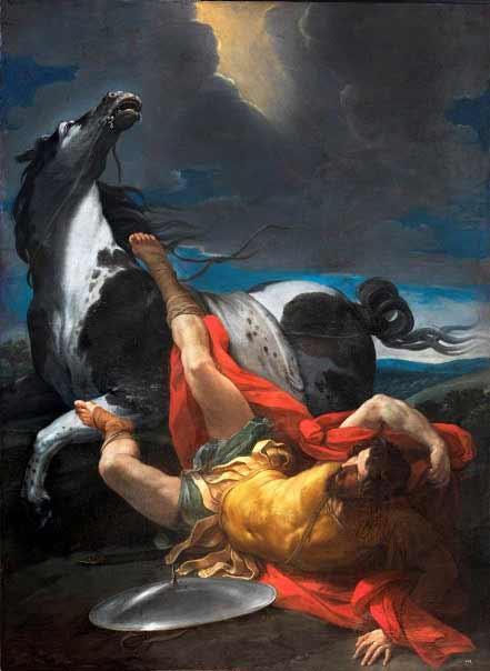 Guido Reni - Conversión de Saulo