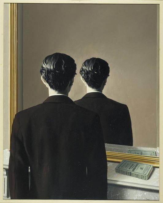 René Magritte - La reproduction interdite, 1937