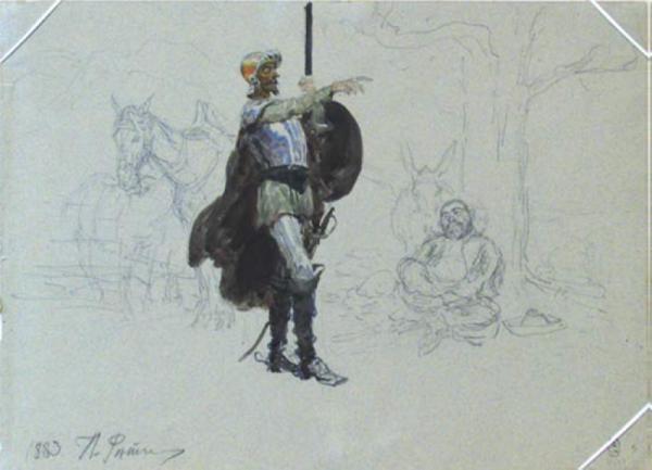 Cervantes en el arte ruso