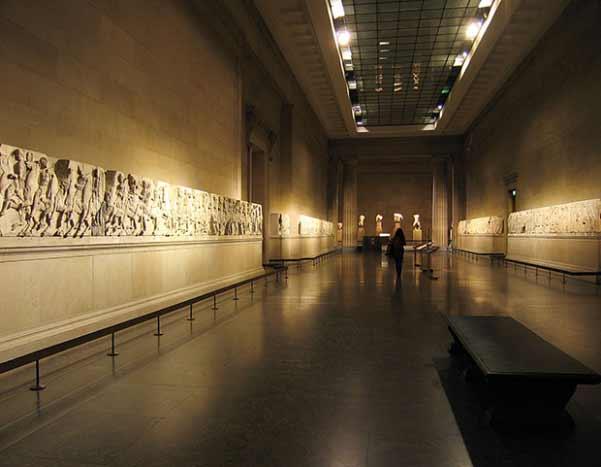 Mármoles del Partenón en el British Museum
