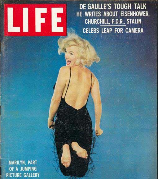 Philippe Halsman - portada de LIFE con Marilyn