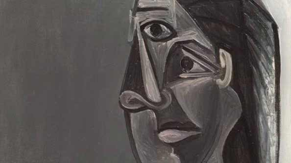 Picasso - Retrato de Dora Maar, 1942