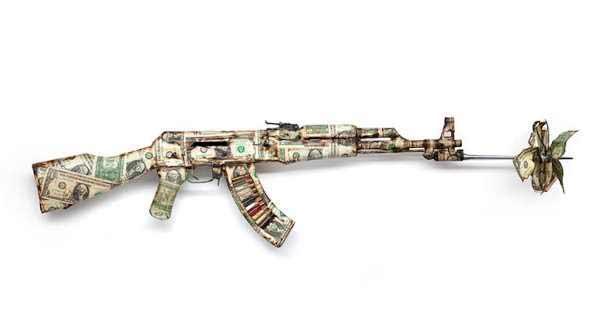 Bran Symondson - uno de sus AK 47