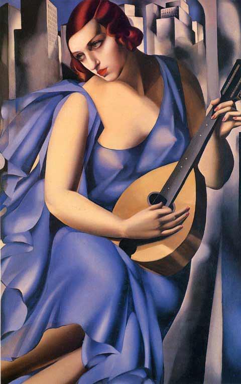 Tamara de Lempicka - La Música, 1929