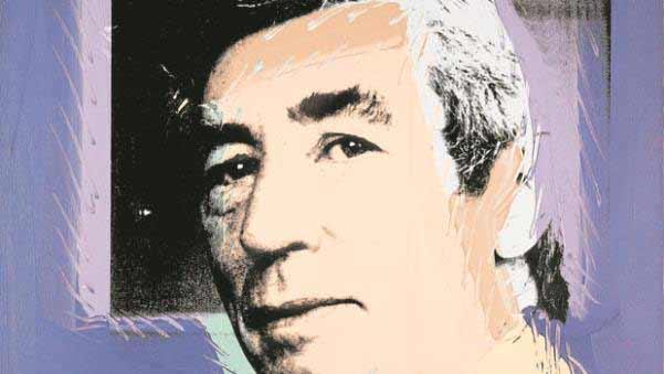 Andy Warhol - Retrato de Hergé
