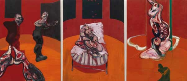 Francis Bacon - Three Studies for a Crucifixion, 1962