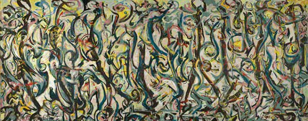 Jackson Pollock - Mural, 1943