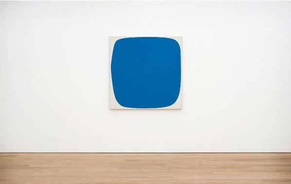 Museo Voorlinden - Ellsworth Kelly - Blue Ripe, 1959