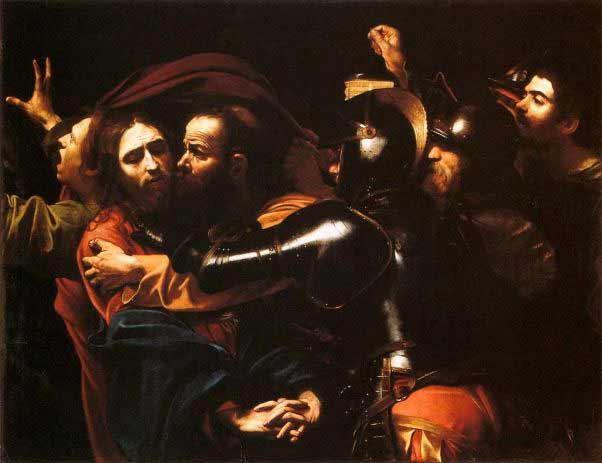 Caravaggio - El Prendimiento