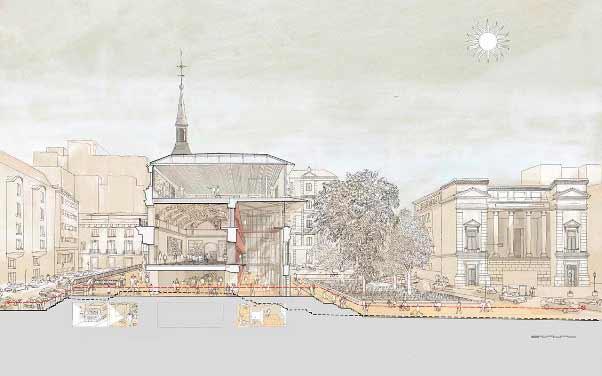 Proyecto de ampliación del Salón de Reinos del Museo del Prado