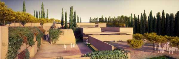 Álvaro Siza Vieria - proyecto en la Alhambra
