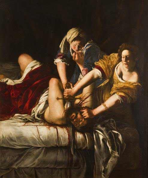 Artemisia Gentileschi - Giuditta che decapita Oloferne, 1620-21 ca