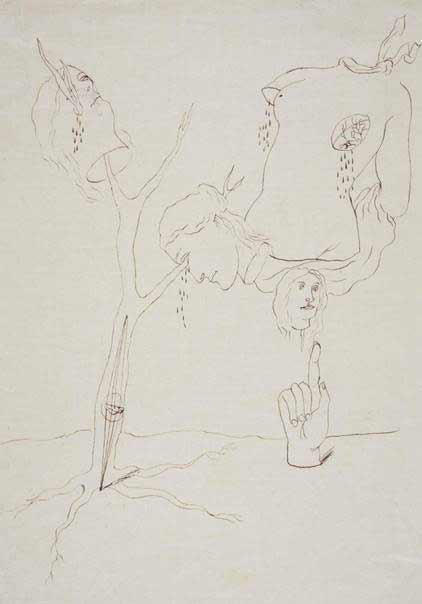 José Caballero - Composición Surrealista