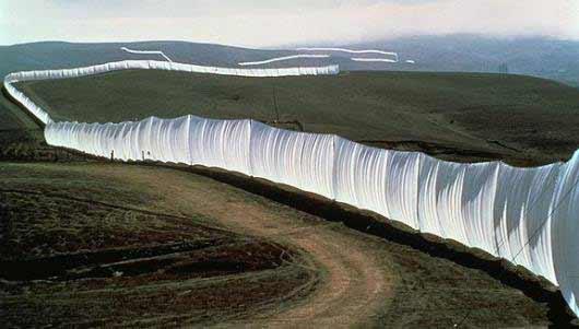 Land Art o el muro de la discordia