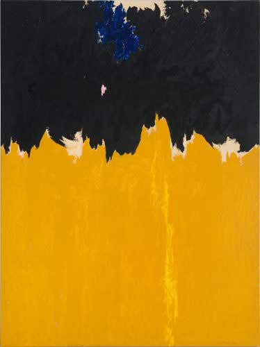 Clyfford Still - PH-950, 1950, Óleo sobre lienzo, 233,7 x 177,8 cm, Clyfford Still Museum, Denver, Cortesía Clyfford Still Museum, Denver, Colorado, © City and County of Denver, VEGAP, Bilbao, 2016